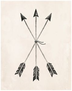 Arrows Art Print 11X14 by KelliMurrayArt on Etsy