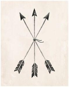 Arrows+Art+Print++11X14+by+KelliMurrayArt+on+Etsy