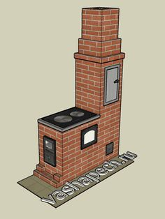 Masonry heater, stove and oven