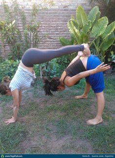 14 Best Yoga images in 2018 | Partner Yoga, Acro yoga poses, Partner