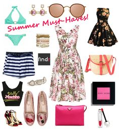 March must - have items! ไอเท็มมาแรงสำหรับ summer นี้ที่ https://www.findr.co.th/