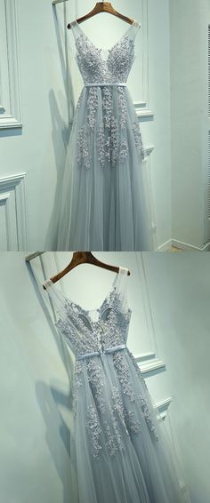 Only $139, Popular V-neck Lace And Tulle Long Prom Dress For Cheap #MYX18004 at #SheProm. SheProm is an online store with thousands of dresses, range from Prom,Formal,Grey,A Line Dresses,Long Dresses,Customizable Dresses and so on. Not only selling formal dresses, more and more trendy dress styles will be updated daily to our store. With low price and high quality guaranteed, you will definitely like shopping from us. Shop now to get $10 off!