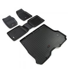 Rugged Ridge Jeep XJ 84-01 All Terrain Floor / Cargo Liner Kit Fitted