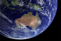 Australia from space ..