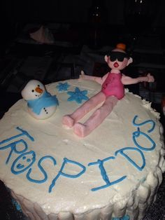 Trospi tarta #trospidos #QQCCMH #Leti #cake #fondant