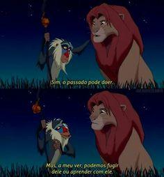 Existe dois caminhos, Simba