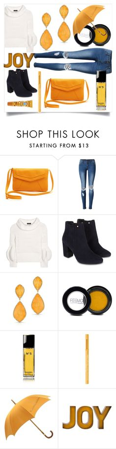 """""""Untitled #737"""" by capm ❤ liked on Polyvore featuring WithChic, Burberry, Monsoon, Anne Sisteron, Chanel, Too Faced Cosmetics and Hermès"""