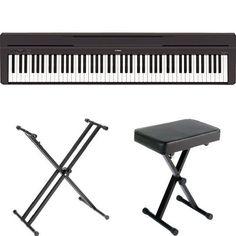 Yamaha P45B Digital Piano with Yamaha Stand and Bench...