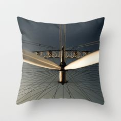LONDON EYE Throw Pillow by Kevin Spagnolo - $20.00