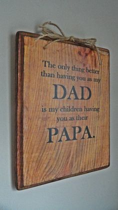 Fathers Day Gift For Father Grandpa Dad Papa Christmas Birthday From Kids