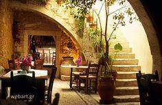 Cretan taverna