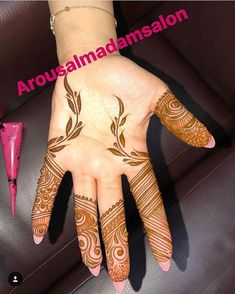No automatic alt text available. Mehndi Art, Henna Mehndi, Henna Art, Mehendi, Mehndi Designs For Fingers, Latest Mehndi Designs, Mehandi Designs, Pretty Henna Designs, Mehndi Images