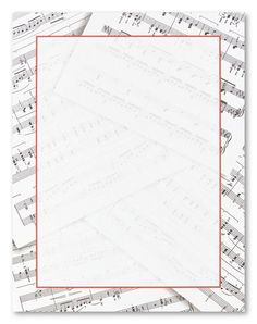 musical notes portrait blank borders free music notes and clip art rh pinterest com Music Note Page Border Music Notes Clip Art Borders