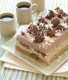 Milk Chocolate Haystack Ice Cream Loaf