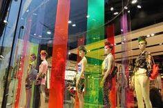 coloured vinyl strips
