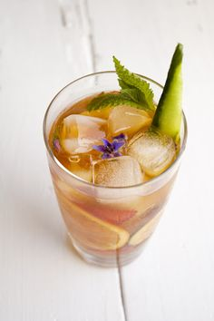 drinks  -New summer drink perhaps....Pimm's cup
