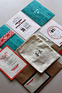 make linen bags for media kit