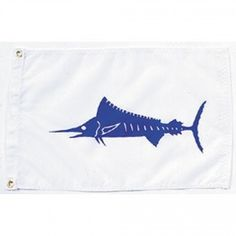 Nyl-Glo Marlin Flag-12 in. X 18 in. http://www.pacificcoastflag.com/product-type/sports-recreation-leisure-boating-fishing-auto-racing/12-in-x-18-in-nyl-glo-marlin-flag.html