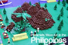 PYRAMIDS. More fun in the Philippines!