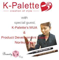 kikay trekkie: BLOG EVENT: K-PALETTE LAUNCHES IN THE PHILIPPINES  http://kikaytrekkie.blogspot.com/2012/07/blog-event-k-palette-launches-in.html#