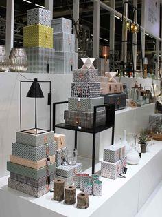 Beautiful storage boxes and suitcases! | via La maison d'Anna G.: Formex