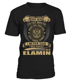 ELAMIN - I Nerver Said