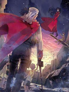 Shirou Emiya / Rin Tohsaka【Fate/Stay Night】