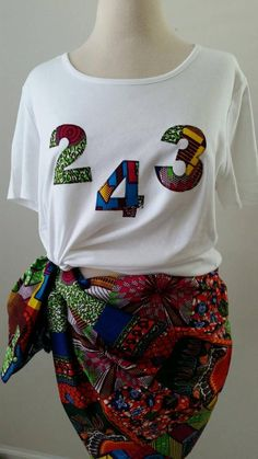 Items similar to Ankara/Kitenge/Wax/ Afro Queen T-shirt - Pick your Are Code on Etsy Baby African Clothes, African Dresses For Kids, Latest African Fashion Dresses, African Print Fashion, Africa Fashion, African Print Shirt, African Shirts, African Attire, African Wear