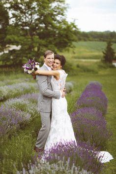 Simply Beautiful.  Photography: Svetla Vesnaya At Purple Tree Photography - purpletree.ca  Read More: http://www.stylemepretty.com/canada-weddings/ontario/toronto/2014/01/24/lavender-wedding-inspiration-at-weirs-lane-lavender-farm/