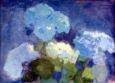Schjerfbeck, Helene (1862-1946) - 1915 Hydrangea (Christie's London, 2007) by RasMarley, via Flickr