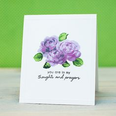Altenew: Flower Cards in Three Ways | Flickr - Photo Sharing!
