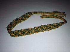 Green vintage - friendship bracelet