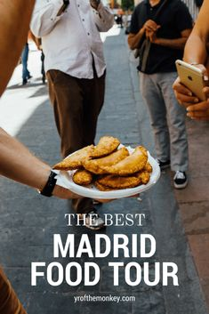 How can you taste some of the best local flavors when in Madrid, Spain? Via a food tour, that is how! Sharing our experience of one of the best food tours in Madrid which also accommodates vegetarians! A must read post for all you foodies out there! Menorca, Malaga, Madrid Food, Madrid Tapas, Spain Madrid, Granada, Ibiza, A Food, Food And Drink