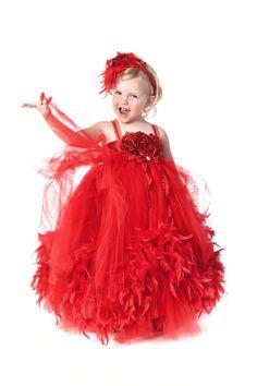 tutu Christmas dress by pinkgiraffebowtique.  hehe
