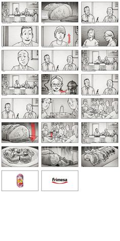 Check Out This Behance Project Storyboard Pitch For A Film