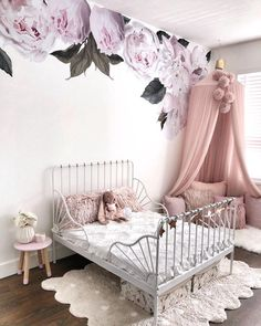luxurious and unique decoration for the kids' roo… minimalist kids bedroom ideas; luxurious and unique decoration for the kids' room; Baby Zimmer Ikea, Minimalist Kids, Toddler Rooms, Kids Bedroom Ideas For Girls Toddler, Ikea Toddler Bed, Girl Kids Room, Toddler Bedding Girl, Kids Rooms, Kids Girls