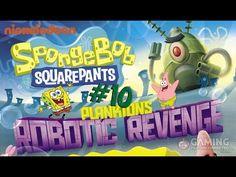Spongebob Squarepants Game Full Episodes 10 - Plankton's Robotic Revenge...