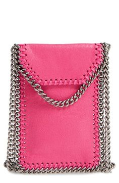 Stella McCartney 'Falabella' Faux Leather Crossbody Phone Pouch available at #Nordstrom