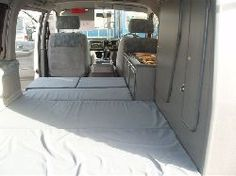 Mazda bongo with a middle of the road camper conversion.