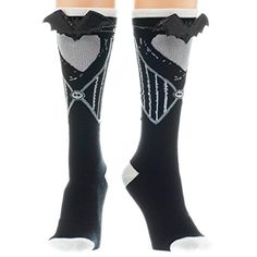 Nightmare Before Christmas Jack Skellington NWT Women's Knee High Fashion Socks Funny Socks, My Socks, Nightmare Before Christmas Clothing, Crazy Socks For Men, Leggings, Tights, Knee High Socks, Fashion Socks, Fashion Seasons