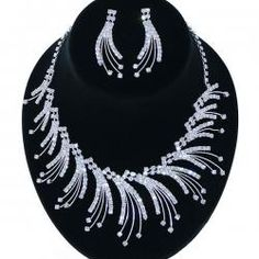 This is a little more modern, but still pretty!!  http://www.fashionjewelry21.com/necklaces/rhinestone-necklaces/86205-cmv-rhinestone-necklace-earring-set-silver-clear.html