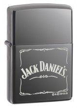 Zippo 3742 Jack Daniels Old No 7 Black Matte Lighter