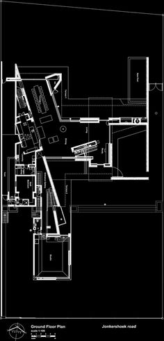 Gallery of Sinkhuis House / Slee & Co Architects - 18 - See Home Plans The Plan, How To Plan, Large Floor Plans, Modern House Floor Plans, Architecture Plan, Architecture Details, Floor Plan Drawing, Ground Floor Plan, House Layouts