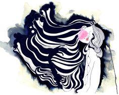 Fashion Illustrations by Amelie Hegardt | Trendland: Fashion Blog & Trend Magazine