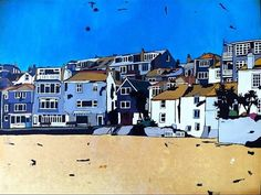 limited Edition A3 Giclee Art Print The Wharf St by TraceyOldham,