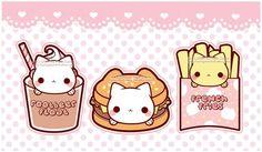 Cute food nyanko                                                                                                                                                                                 More