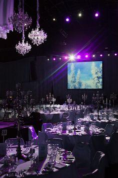 Winter Wonderland #eventdesign #eventtheme | SocialTables.com | Event Planning Software