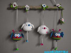 Cheerful birds and owls - willewopsie