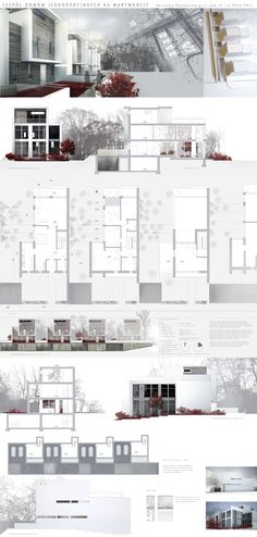 ecological housing project in Marymont district on Behance