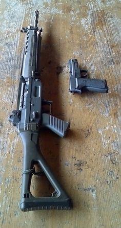 Military Weapons, Weapons Guns, Guns And Ammo, Assault Weapon, Assault Rifle, Shotguns, Firearms, Sig P220, Battle Rifle